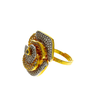 Buy stylish finger rings at Anuradha Art Jewellery at lowest price