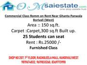 Exclusive Classroom on Rent in Borivali West
