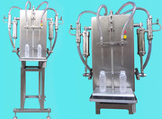 2 Head Semi Automatic Liquid Filling Machine (Table Top Model)