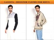 Buy Online Designer Clothes for Men