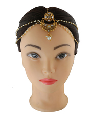 Get Exclusive Design of Matha Patti for Women at Anuradha Art Jewelry
