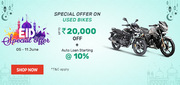 EID Special Offer on Used Bikes by Droom