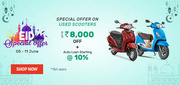 EID Special Offer on Used Scooters by Droom