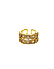 Shop the American diamond ring from house of Anuradha Art Jewellery