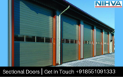 Sectional Overhead Doors - NIHVA Technologies Pvt. Ltd
