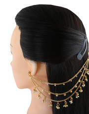 Check out Latest Design of Matilu and Pearl ear chains at best price.