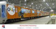 Mumbai Metro Advertising Mumbai| Mumbai Metro Station Ticket Ads