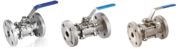 Three Piece Design Ball Valves