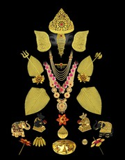 Checkout the Ganesha Jewellery at best Price by Anuradha Art Jewellery