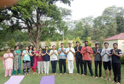 Yoga Trainer at Home in Pune- Sarvadnya Yoga Institute