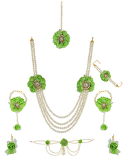 Check out collection of flower jewellery online at best price