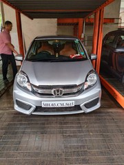 HONDA AMAZE 2017 CNG CONVERTED VERY GOOD CONDITION SINGLE HAND DRIVEN