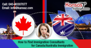 How to Find Immigration Consultants for Canada/Australia Immigration?
