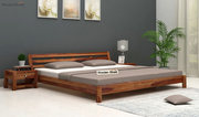 Explore the beds collection at Wooden Street
