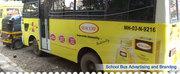 School Bus Advertising Thane Navi Mumbai| School Bus Branding
