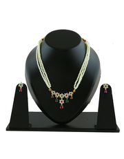 Checkout the collection of Moti necklace at best price