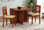 Check out Beautifully Finished Space Saving Dining Table in India
