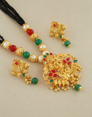 Shop for Short Mangalsutra Designs at Lowest price from Anuradha Art J