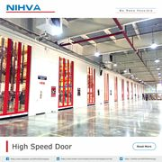 High Speeds Automation Doors | NIHVA Technology
