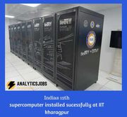 india's 12th supercomputer installed successfully at iit