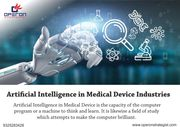 Trends of Artificial Intelligence in Medical Device Industries