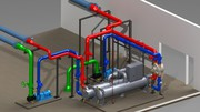 Piping 3D Model first you've got to produce conceptual 2D Pipe Routing