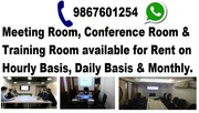 Conference & Training Room available for Rent on Hourly Basis & Daily.