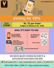 Advantages of EVoting For IRPs