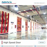 High Speed Doors | Rapid Door | Automatic PVC Doors - NIHVA