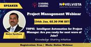 FREE Webinar on Project Management by NovelVista