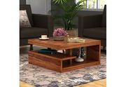 Avail Up to 55% Off on Teapoy furniture by Wooden Street