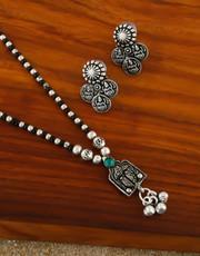 Shop black metal jewellery at Anuradha Art Jewellery