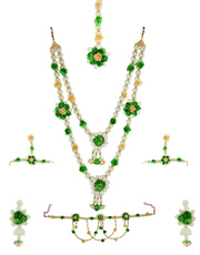 Shop for floral jewellery online by Anuradha Art Jewellery.