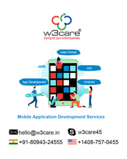 Mobile app development agency in India W3care