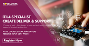 ITIL4 Specialist Create Deliver and Support Training & Certification