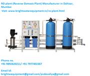 RO Plant (Reverse Osmosis Plant) Manufacturer in Dahisar,  Mumbai