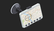 Vehicle tracking system for fleet operators.