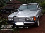 1985  MERCEDES 123 SERIES 300 D KERSI SHROFF AUTO CONSULTANT DEALER