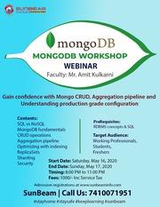 MongoDB webinar | MongoDB Online classes | SunBeam
