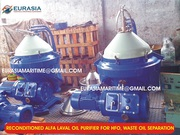 Alfa Laval industrial centrifuge,  oil purifier,  pyrolysis oil purifier
