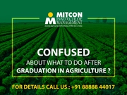 Be a leader in India's Leading Industry - Agro Industry