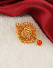 Buy Saree Pin Design Online at an Low Price by Anuradha Art Jewellery.
