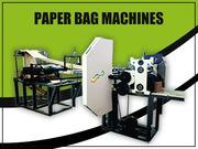 Indian Manufacturer of Paper Bag Making Machines - Bharath Machines