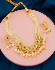 Explore Collection of Kundan Bridal Jewellery Set Online at Best Price