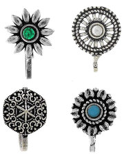 Buy Beautiful Collection of Silver Nose Pin Online at Affordable Price