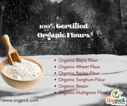 Buy Best Quality Certified Organic Flours Online