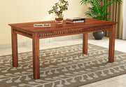 High Quality Wooden 6 Seater Dining Table  India from WoodenStreet