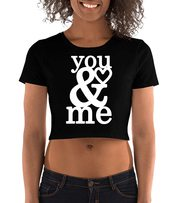 Graphic Printed Crop Top for Women