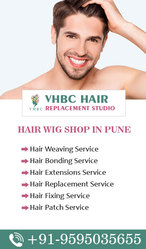Men & Women Hair Wigs Shop in Pune