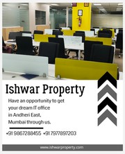 Furnished IT Office Space Rent in Andheri East,  Mumbai